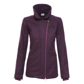 Tatonka Flowell Jacket Women purple velvet